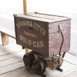 Stock Photo: Old Gold Wagon