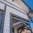 Old West Vintage Architectural Detail — Stock Photo