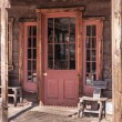 Old West Vintage Saloon Door — Stock Photo #21972525