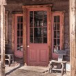 Old West Vintage Saloon Door - Foto de Stock