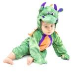 Baby Dragon Costume — Stock Photo