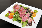 Ahi Tuna Salad — Stock Photo