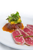 Tuna Tartare — Stock Photo