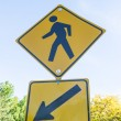 Pedestrian Crossing - Foto Stock
