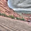Stock Photo: Red Rocks Theater Colorado