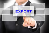 Export sign — Stock Photo