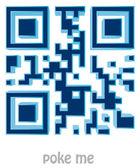 QR code of Poke — Stock Photo