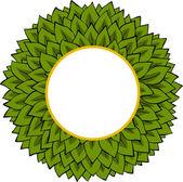 Rama liści — Wektor stockowy