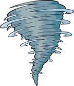 Tornado — Stock Vector