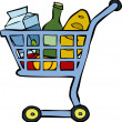 Shopping cart — Stock Vector #20060393