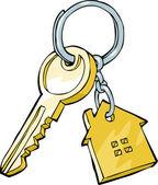 House key — Cтоковый вектор