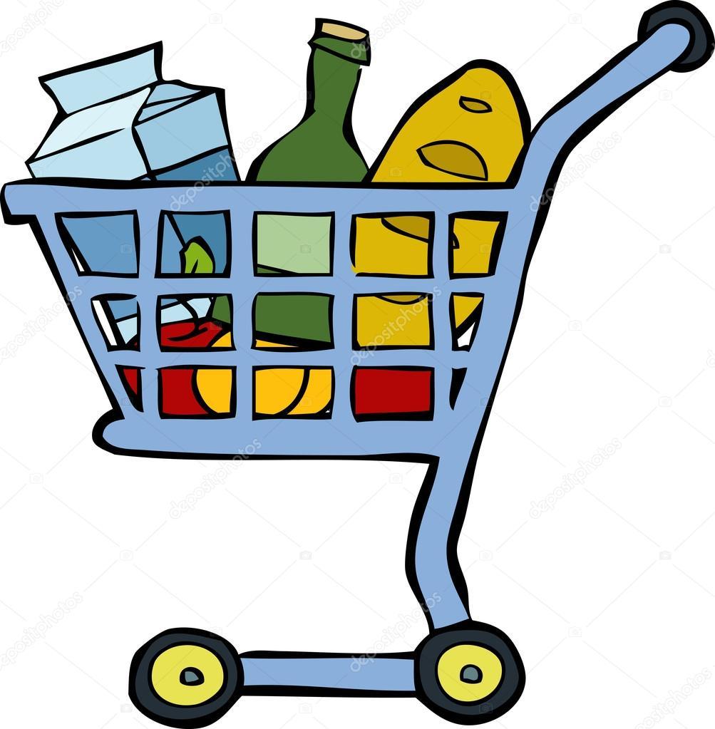 Carrito de compras vector de stock 20060393 depositphotos - Carrito dela compra ...