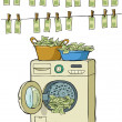 Money laundering - Stock Vector