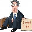 Needs a job — Stock Vector