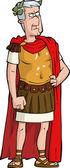 The Roman emperor — Stock Vector