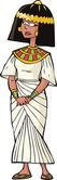 Ancient Egyptian woman — Stock Vector