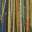 Stock Photo: Different sorts of ropes