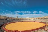 Bullfight ring in Sevilla, spain — Stock Photo