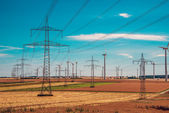 Electricity and transport — Stock Photo