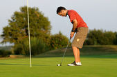 Golfer seven — Stock Photo