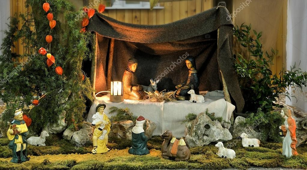 Creche for Christmas and New years  Stock Photo #13340042