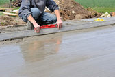 Concrete slab — Stock Photo
