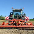 Tractor field two — Stock Photo