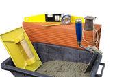 Tools masonry — Stock Photo