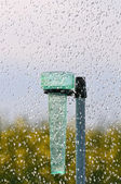 Rain gauge three — Stock Photo