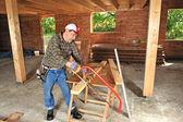 Woodworker five — Stock Photo