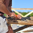 Stock Photo: Carpentry