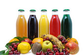 Fruit juice two — Stock Photo