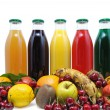 Fruit juice two — Stock Photo #24420755