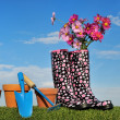 Stock Photo: Gardening concept four