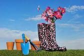 Gardening concept four — Stock Photo