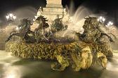 Fountain bordeaux — Stock Photo