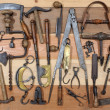 Stock Photo: Old tools