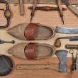Old tools three — Stock Photo