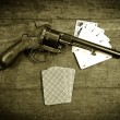 Poker gun two — Stock Photo