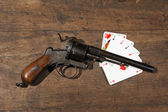 Poker gun — Stock Photo