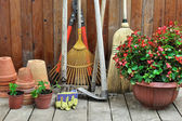 Garden shed two — Stock Photo