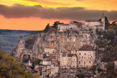 Village of Rocamadour three — Stock Photo