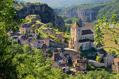 Saint-cirq-Lapopie three — Stock Photo