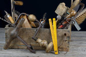 Toolbox three — Stock Photo