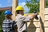 Build chalet — Stock Photo