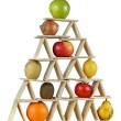 Pyramid food three — Stock Photo #49195489