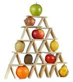 Pyramid food three — Stock Photo