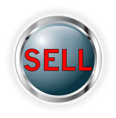 Sell button — Stock Photo