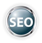 Seo button — Stock Photo