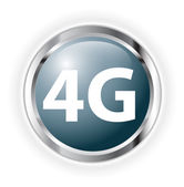 4g button — Stock Photo